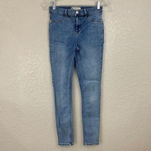 Free People High Rise Skinny Jeans, Size 26, EUC